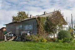 Hus i byn Royaltyfri Fotografi