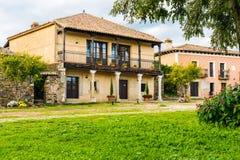 Hus i byn av granadillaen Fotografering för Bildbyråer