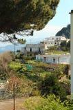 Hus i Capri, Italien Fotografering för Bildbyråer