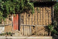 Hus i Concepcion de Ataco Arkivfoton