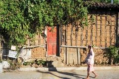 Hus i Concepcion de Ataco Royaltyfri Foto