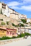 Hus i Cuenca Royaltyfri Fotografi