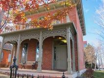 Hus i Denver Arkivbilder