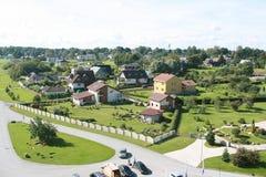 Hus i Estland arkivfoton