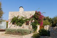 Hus i gamla Datca Arkivbilder
