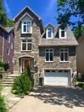 Hus i Halifax, New Brunswick, Kanada arkivbilder