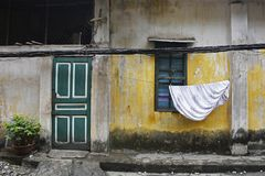Hus i Hanoi Royaltyfria Foton