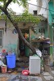 Hus i Hanoi Fotografering för Bildbyråer
