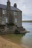 Hus i havet Royaltyfria Bilder