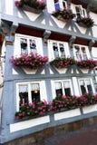 Hus i Hildesheim Arkivbilder