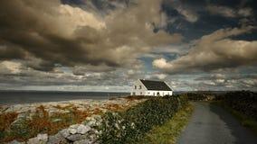 Hus i Inisheer Fotografering för Bildbyråer