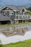 Hus i Japan Royaltyfri Foto