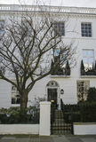 Hus i London Royaltyfri Fotografi