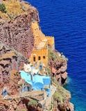 Hus i Mykonos, Grekland royaltyfria bilder