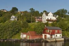 Hus i Norge. Arkivbilder