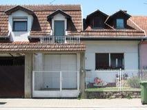 Hus i Novi Sad Royaltyfri Bild