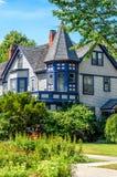 Hus i Oak Park Royaltyfri Fotografi