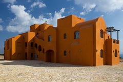 Hus i orientalisk stil egypt Arkivfoto