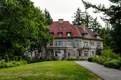 Hus i Portland Oregon Amerikas förenta stater royaltyfria foton