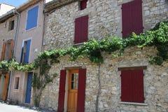 Hus i Provence Arkivfoton