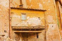 Hus i Rome, Italien Arkivbild