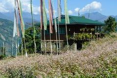 Hus i Sikkim Royaltyfria Foton