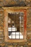Hus i Spinalonga Arkivbilder