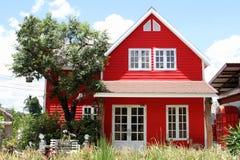 Hus i stilen av en cowboy Arkivbild