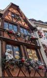 Hus i Strasbourg Royaltyfri Bild