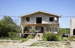 Hus i Studenci stämma överens områdesområden som Bosnien gemet färgade greyed herzegovina inkluderar viktigt, planera ut territor Royaltyfri Foto