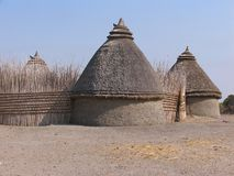 Hus i Sudan Fotografering för Bildbyråer