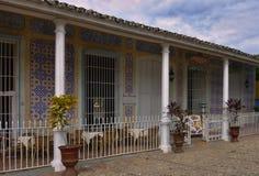 Hus i Trinidad Royaltyfria Foton