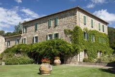 Hus i Tuscany Royaltyfri Fotografi