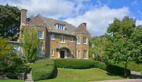 Hus i Westmount Royaltyfria Foton