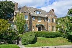 Hus i Westmount Royaltyfri Foto