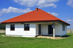 hus isolerad styrofoam Royaltyfri Bild