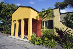 hus Key West Arkivbild