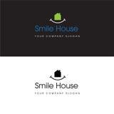 Hus Logo Real Estate Design och hem- symbol Arkivbild