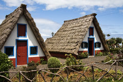 hus madeira Arkivbilder
