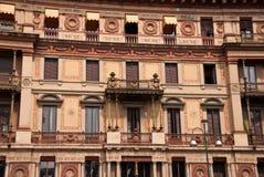 hus milan Arkivbilder