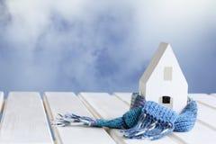 Hus mot himlen Arkivbild