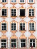 hus mozart s salzburg Royaltyfria Bilder