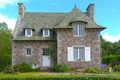 Hus Normandie Frankrike Royaltyfri Foto