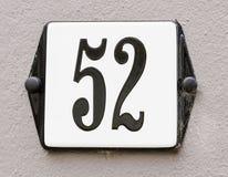 Hus nummer 52 Royaltyfri Fotografi