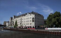 Hus och slottar i Berlin Royaltyfria Foton