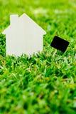 Hus och tecken Arkivfoton