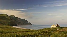 Hus på ön Royaltyfri Fotografi