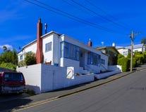 Hus på Baldwin Street arkivfoton