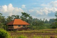 Hus på Bali Royaltyfri Bild