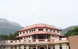 Hus på berget på Indien Royaltyfri Fotografi
